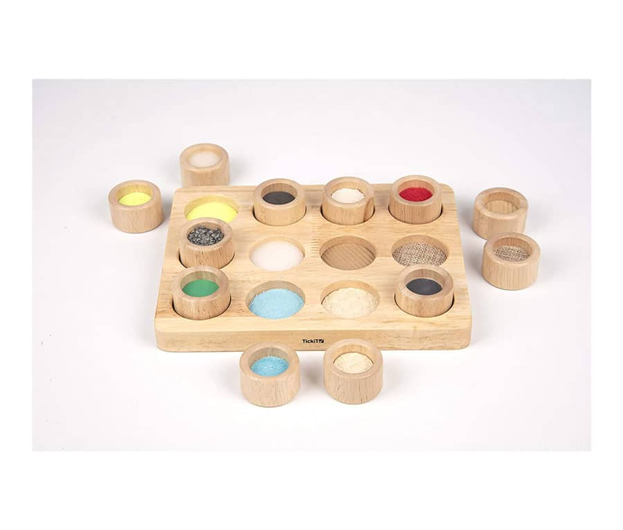 TickiT Touch & Match Board – Toddler Sensory Exploration – Special Educational Needs – Tactile Board – Touch & Feel